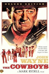 John Wayne movie poster.