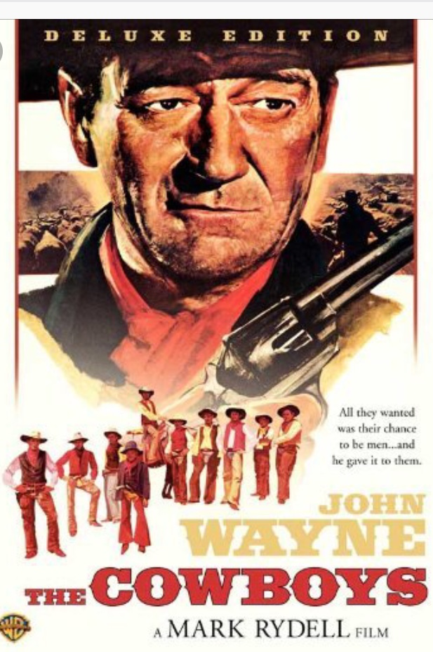John Wayne movie poster.